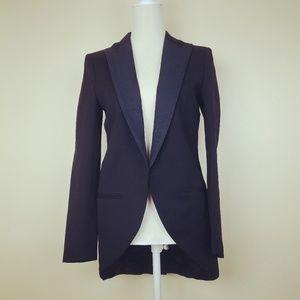H&M Tuxedo Jacket Coat Size 6
